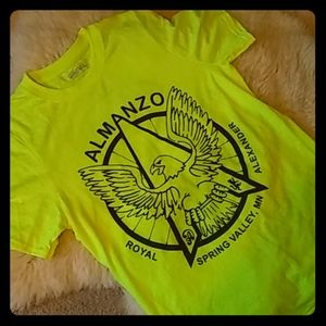 Neon Gravel Endurance Race Shirt Almonzo Small